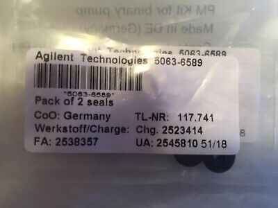Agilent 5063-6589 Pistion Seal For 1200 1100 And 1050 Hplc Pump - 2pk