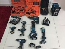 Makita cordless tools with 2 paslode nail gun please no offer thanks Casula Liverpool Area Preview