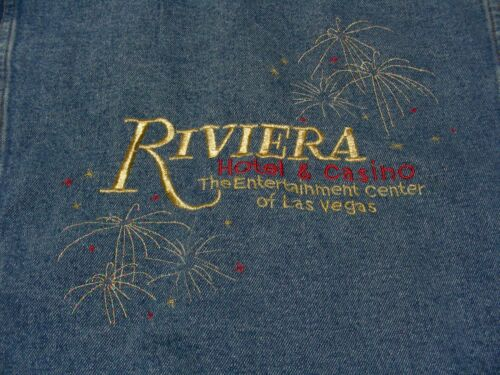 RVIERA HOTEL & CASINO - LAS VEGAS - SMALL SIZE JEAN JACKET COAT!