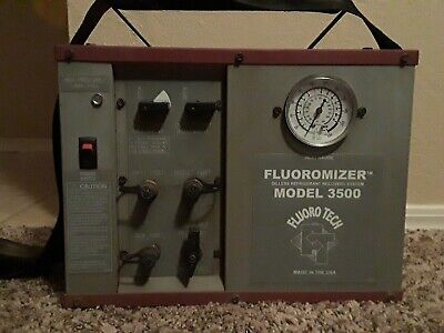 Fluoro-tech Fluoromizer 3500 Oilless Refrigerant Recovery Machine Unit System