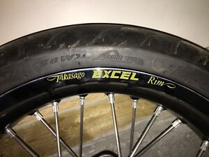 Excel supermoto wheels and tires ktm 500