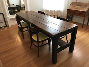 Vintage Workbench Dining Table