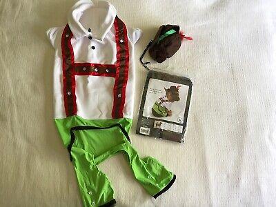 Halloween Dog Costume by Anit - Alpine Boy w/ Lederhosen pants & Hat Size - Alpine Boy Kostüm
