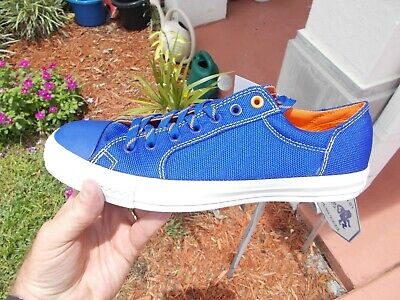 Converse CHUCK TAYLOR CYPHE OX ROYAL BLUE GATOR ORANGE  Men's Size 10.5  140041C - Royal Blue Gator