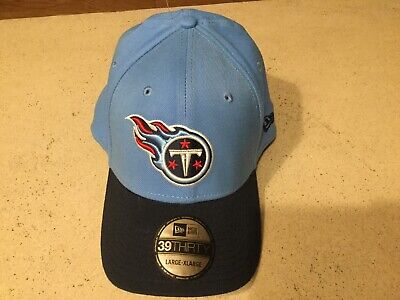 TENNESSEE TITANS Classic  New Era 39THIRTY Hat Cap Large/Extra Large Flex Fit