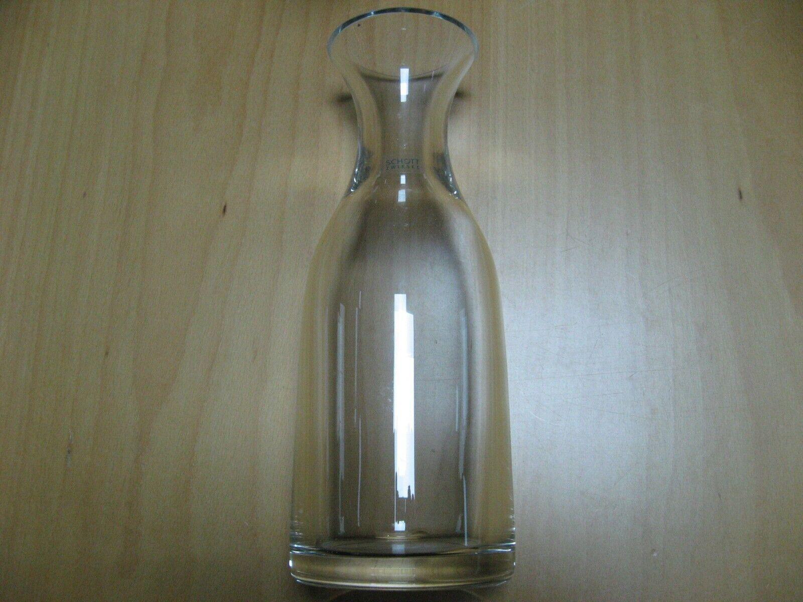 Karaffe Wasser-/Wein-Dekanter SCHOTT Zwiesel 0,7 L GLAS