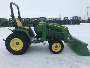 2017 3033R Compact Utility Tractor