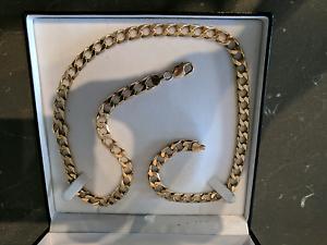 68 gram 9 carat gold large gold necklace Falcon Mandurah Area Preview
