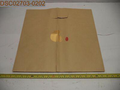 QTY 20: HAS LOGO! Brown Paper Bags with Die Cut Handles, 17-1/2