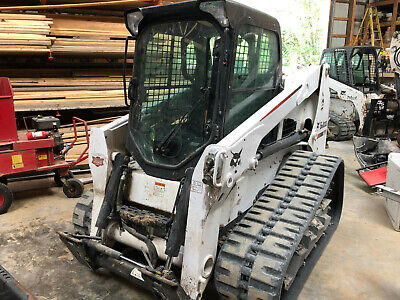 2016 Bobcat T630 Skid Steer Heatac 2sp Aux Hydraulicsroller Suspension74hp