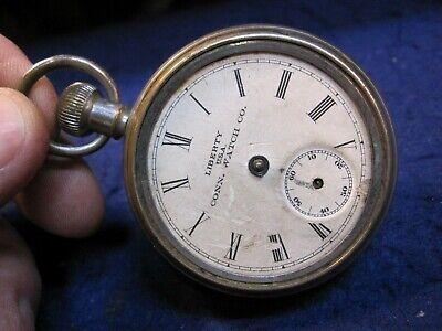 1900 Ingersoll back wind dollar watch pocket watch