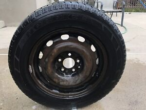 4 winter tires on rims 225/60R 16