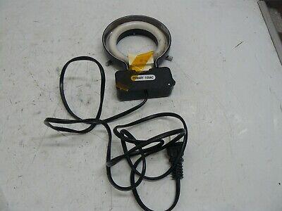 Adjustable Microscope Ring Light Illuminator Lamp Primary 110 Vac
