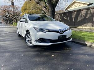2017 Toyota Corolla ZWE186R Hybrid E-CVT White 1 Speed Constant Variable Hatchback Hybrid Hawthorn Mitcham Area Preview