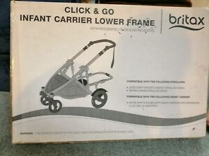 Britax click and go infant carrier lower frame