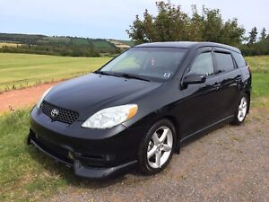 2003 Toyota Matrix XRS 2 sets rims and tires. Zero rust!