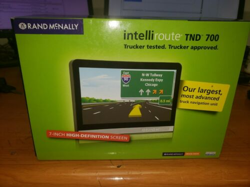 Rand Mcnally IntelliRoute TND 700 Truck GPS