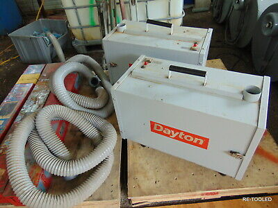 1 Portable Welder Smoke Fume Extractor 5 Stage Industrial Air Cleaner Dayton