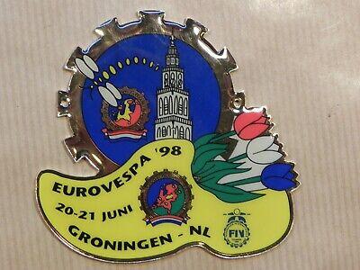Vespa Badge EuroVespa 1998
