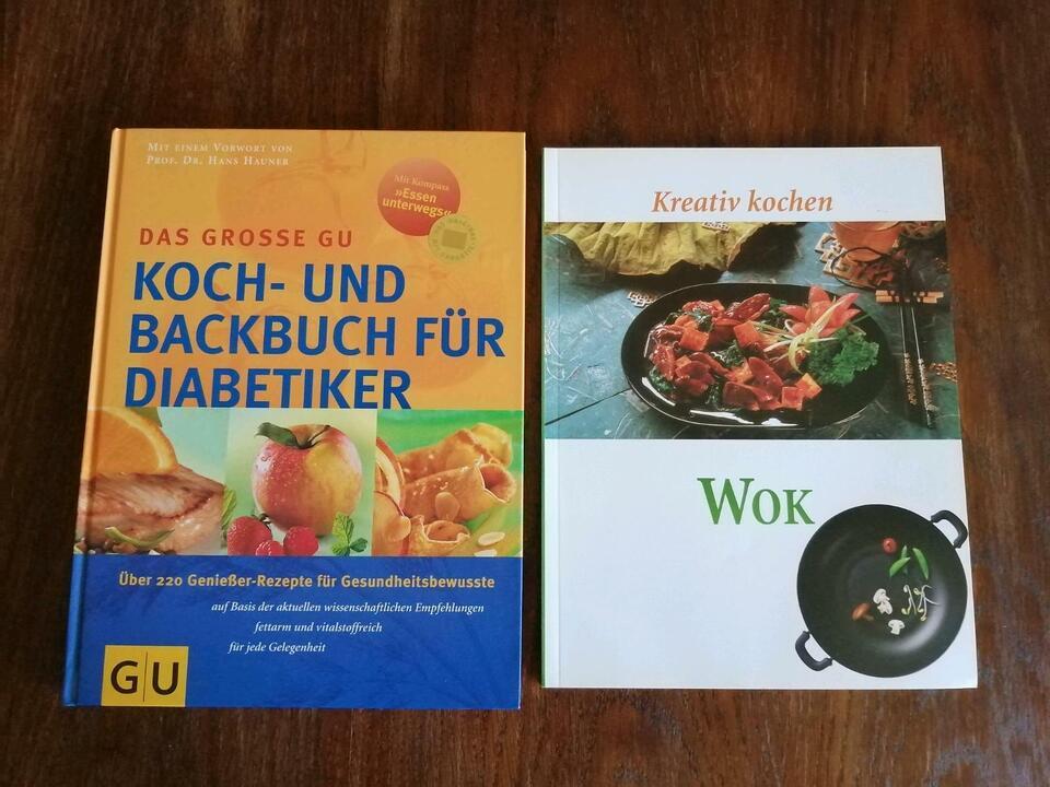 Kochbuch, Backbuch, Diabetiker, Wok, Bücher in Dresden - Neustadt