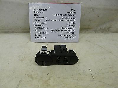 Hyundai i10 FIFA Edition Bj.2010 Schalter für Nebelscheinwerfe 201004787 ()
