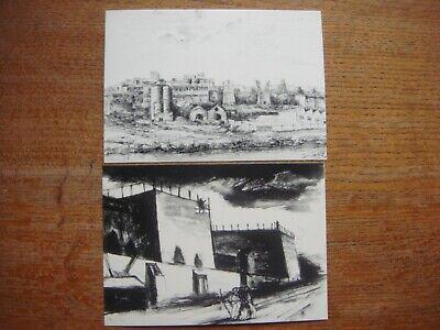 Lot de 2 cartes de BRUYELLE ( Antoing ) - Etablissements Dumon Duquesne (Dumont