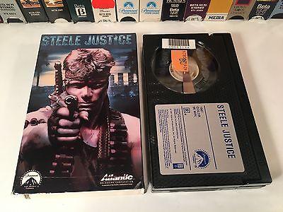 * Steele Justice Betamax NOT VHS 1987 Action Beta Martin Kove Ronny Cox 80's