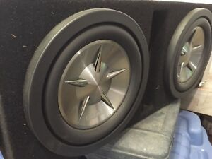 2 Clarion 10'' subs with amp