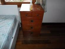 Solid timber bedside table Brighton Bayside Area Preview