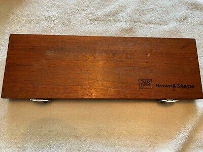 9 Pcs. Set Micrometer Depth Gauge Brown Sharpe Dd3550 Machinist