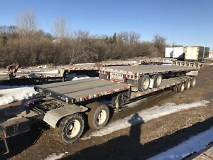 Step deck semi trailers 38' to 53' priced from $4,800-$39,000