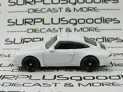 Hot Wheels 1:64 LOOSE 1996 '96 PORSCHE CARRERA Custom SUPER w/Real Riders W#2