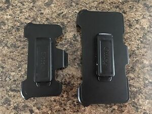 MOVING- iPhone 5 & 6 Plus Otterbox Defender Clip Ons - Must Go