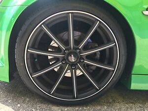 20x 8.5 speedy ignitions plus tyres Redland Bay Redland Area Preview