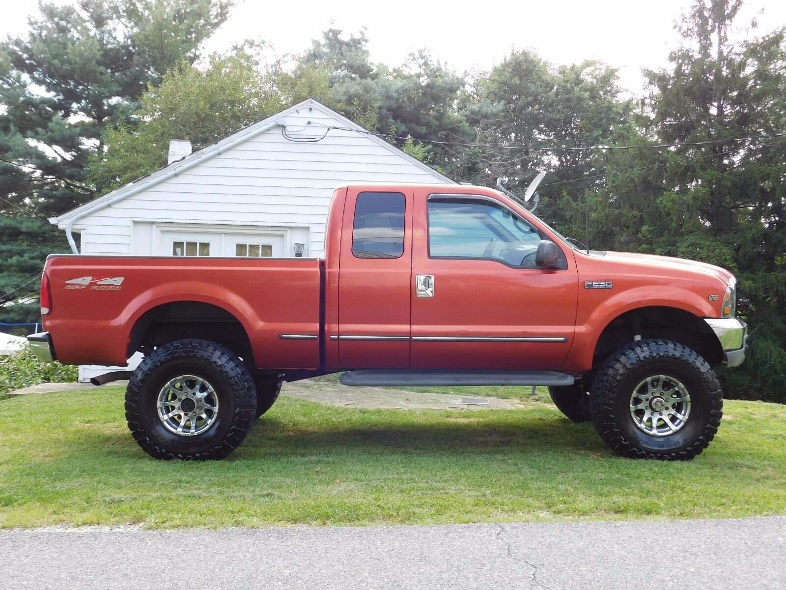 1999 ford f250 super duty xlt lariat shortbed extended cab 4x4 v10 lifted used ford f 250 for. Black Bedroom Furniture Sets. Home Design Ideas