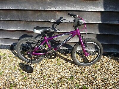 Isla Bike CNOC 16 pink including stabilisers