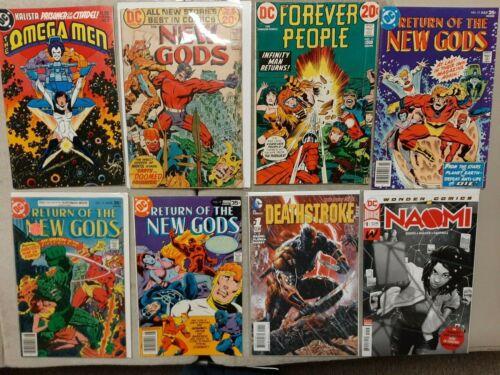 Omega Men 3, FN, New Gods, Naomi 1 2nd print, lot of 32 comics