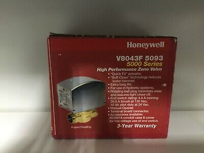 Honeywell V8043f 5093 Zone Valve