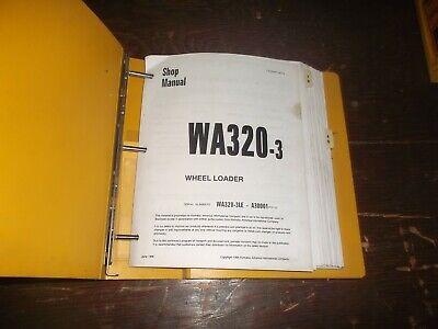 Komatsu Wa320-3le Front End Wheel Loader Tractor Shop Service Repair Manual
