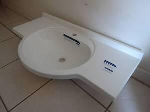 semi recessed 1 tap hole bathroom vanity top 900 x310 Ellenbrook Swan Area Preview