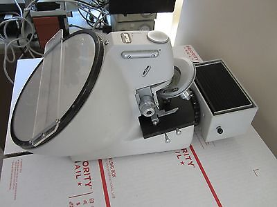 Vintage Reichert Austria Very Rare Optical Microscope Collectable Optics Binlob