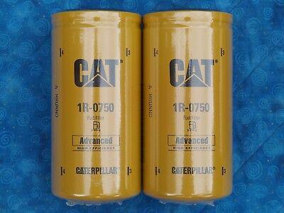 CAT 1R-0750 fuel filter sealed Duramax Genuine Caterpillar 1R0750 1r 0750 2 PACK