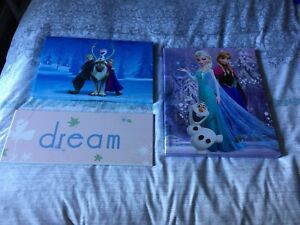 Kids wall decor - $15 for all 3