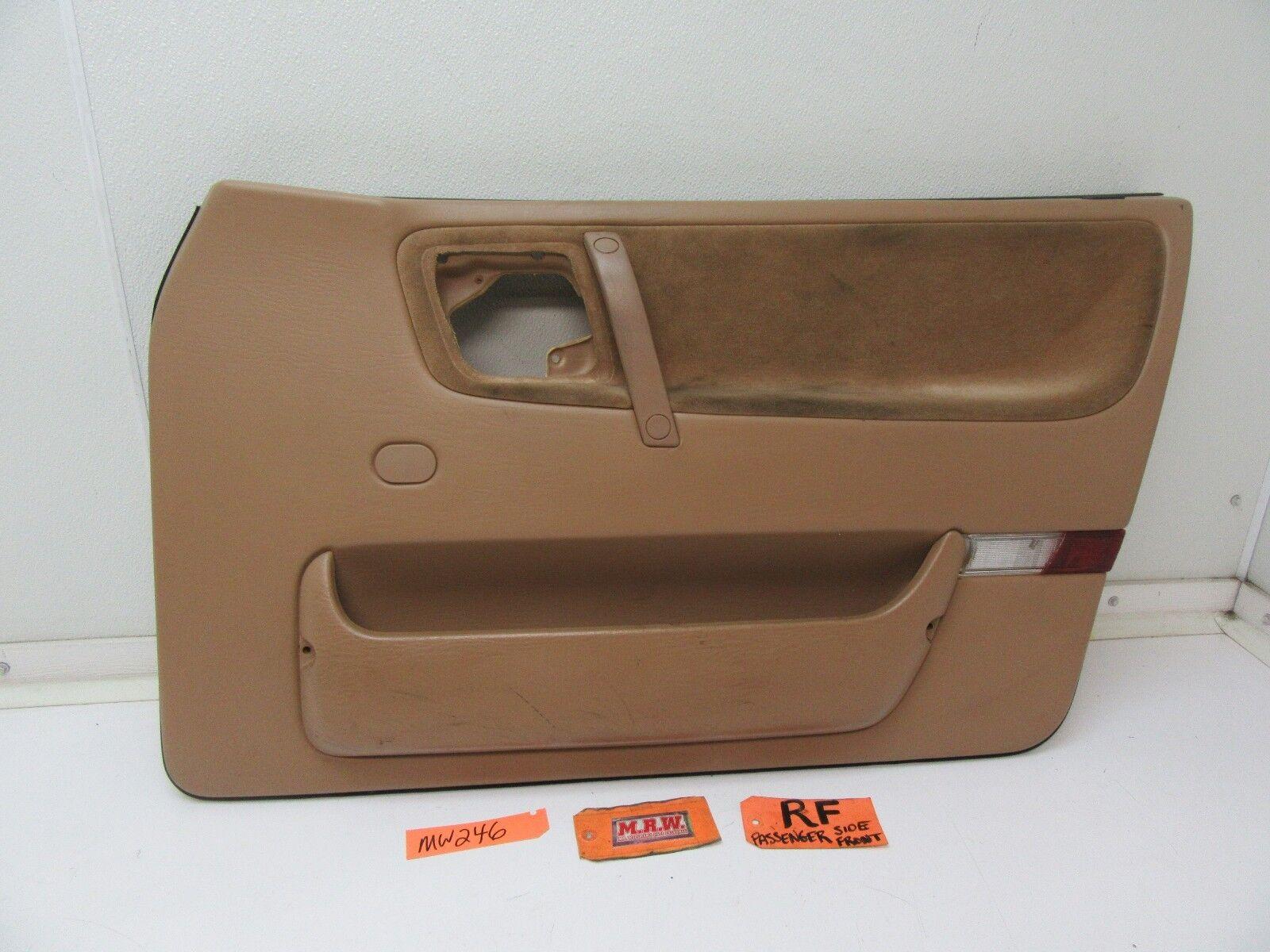 Used saab 9000 interior door panels parts for sale 1993 1998 saab 9000 front door panel right r rh rf passenger interior trim power eventelaan Image collections