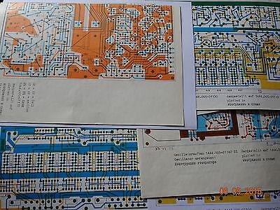 SEG15D, EGD01 12 Seiten Bestückungspläne mit Leiterzugseite, 25 Seiten Schulung