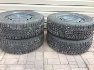 Firestone Winterforce Tires On Rims