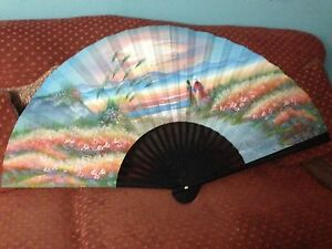 Japanese painting fan  West Island Greater Montréal image 1