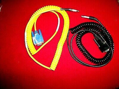Coiled Serial Data Cable Topcon Gps Receiver Trimble R8 R7 R6 5700 Tsce Tsc Tds