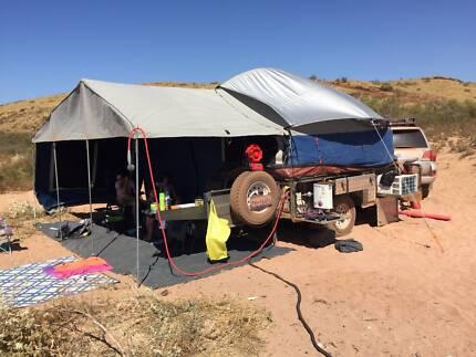 2015 Step Through Camper Trailer + A/C (inc free freight in wa)