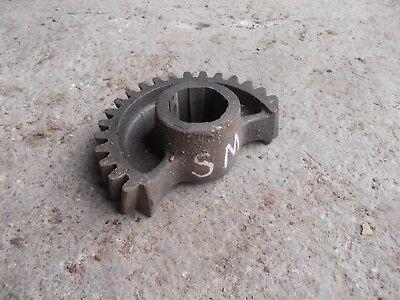 Farmall Louisville Sm Smta Mta Tractor Ih Steering Bolster Shaf Sector Half Gear